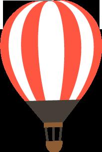 気球ゆらゆら